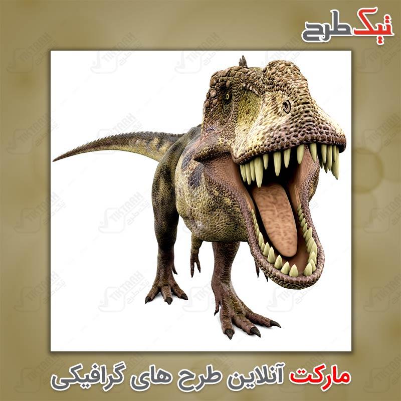 تصویر لارج فرمت دایناسور گوشت خوار