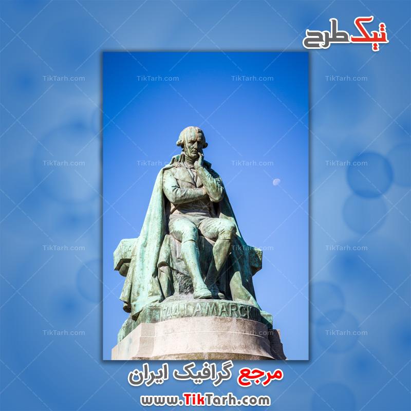دانلود تصویر لارج فرمت مجسمه لامارک جاردین