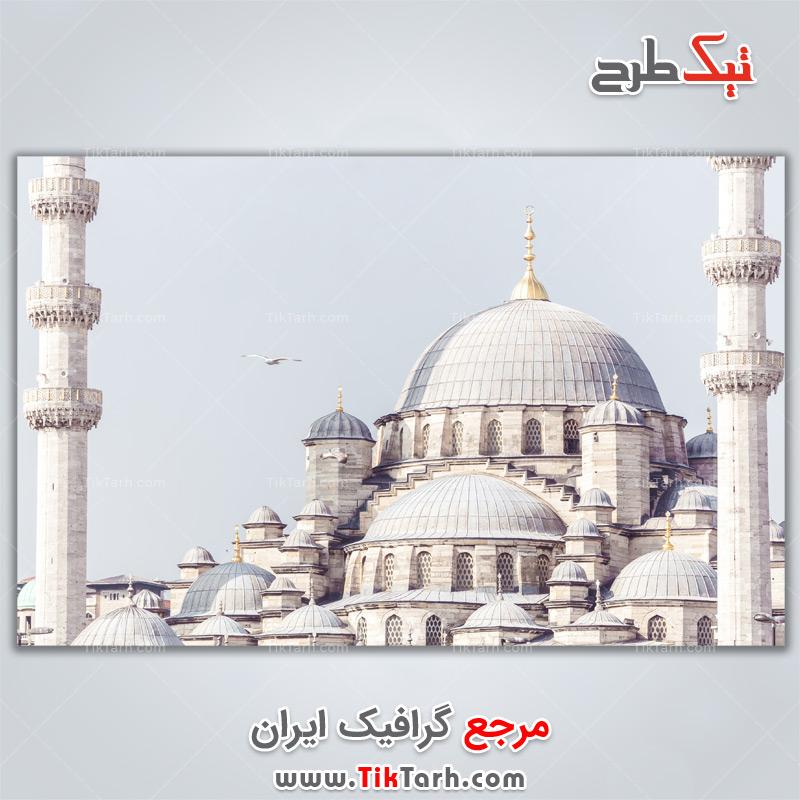دانلود تصویر لارج فرمت مسجد جدید استانبول