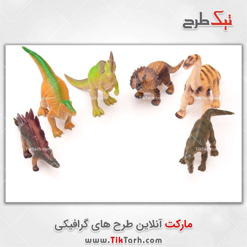 دانلود تصویر با کیفیت اسباب بازی دایناسور