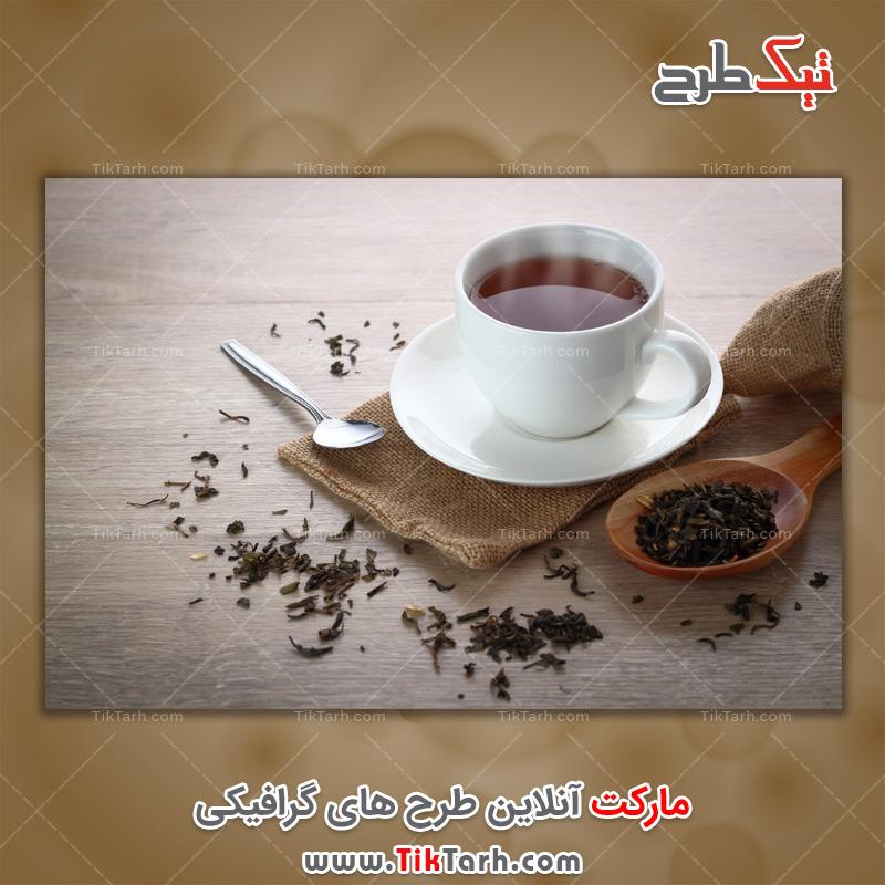 دانلود عکس باکیفیت فنجان چای