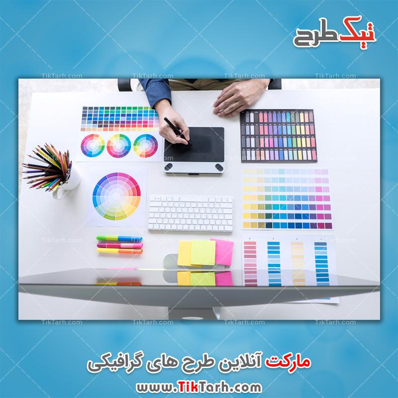 دانلود عکس با کیفیت طراحی گرافیکی رنگی