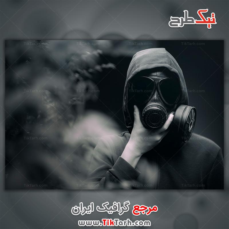 دانلود عکس با کیفیت ماسک ضد گاز