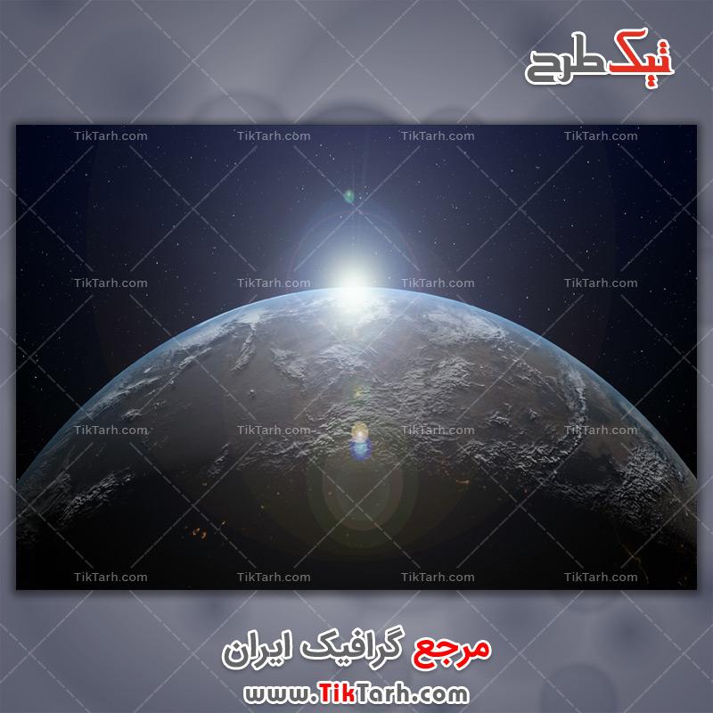 دانلود تصویر لارج فرمت سیاره ناشناخته