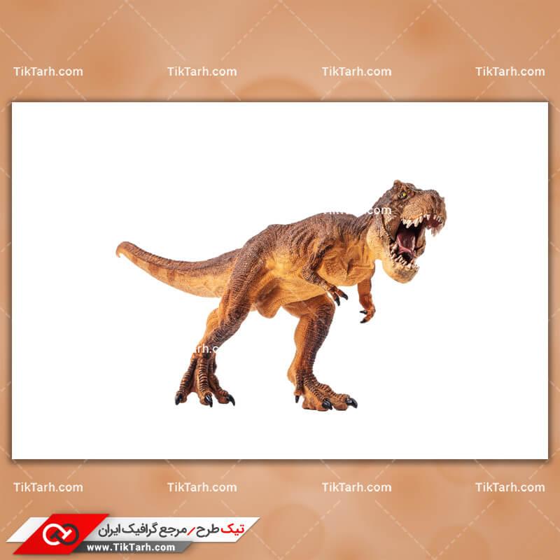 تصویر لارج فرمت دایناسور شرزه درنده