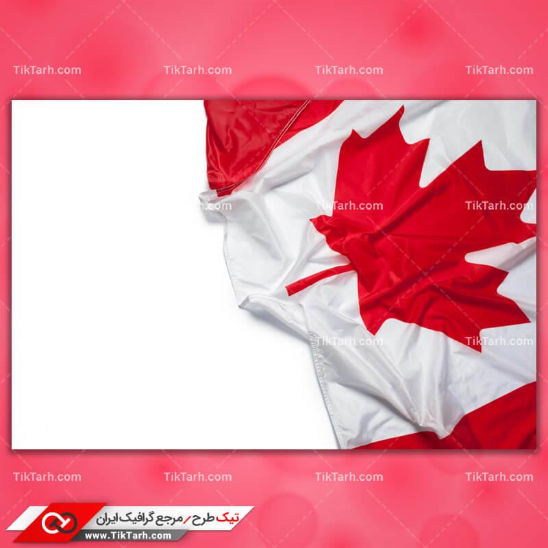دانلود عکس با کیفیت پرچم کانادا