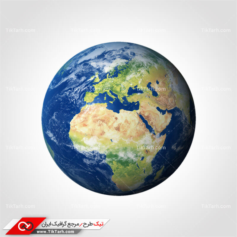 دانلود طرح لایه باز کره زمین