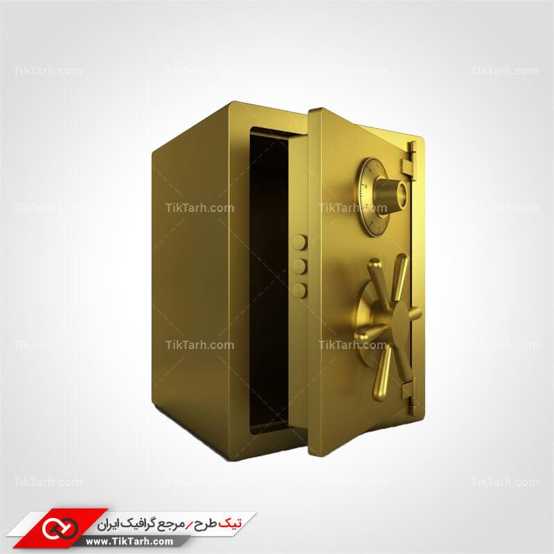 دانلود طرح لایه باز گاو صندوق طلایی