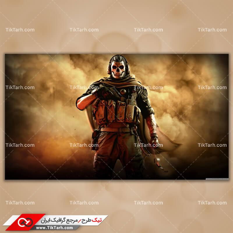 دانلود تصویر با کیفیت بازی call of duty modern warfare