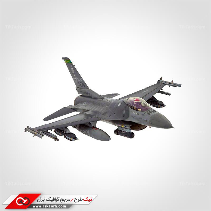 دانلود عکس با کیفیت هواپیمای اف 16 با تجهیزات کامل