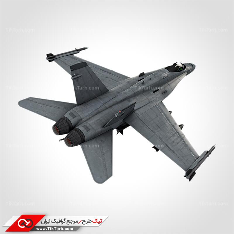 دانلود عکس با کیفیت هواپیمای جنگنده مسلح به بمب و موشک