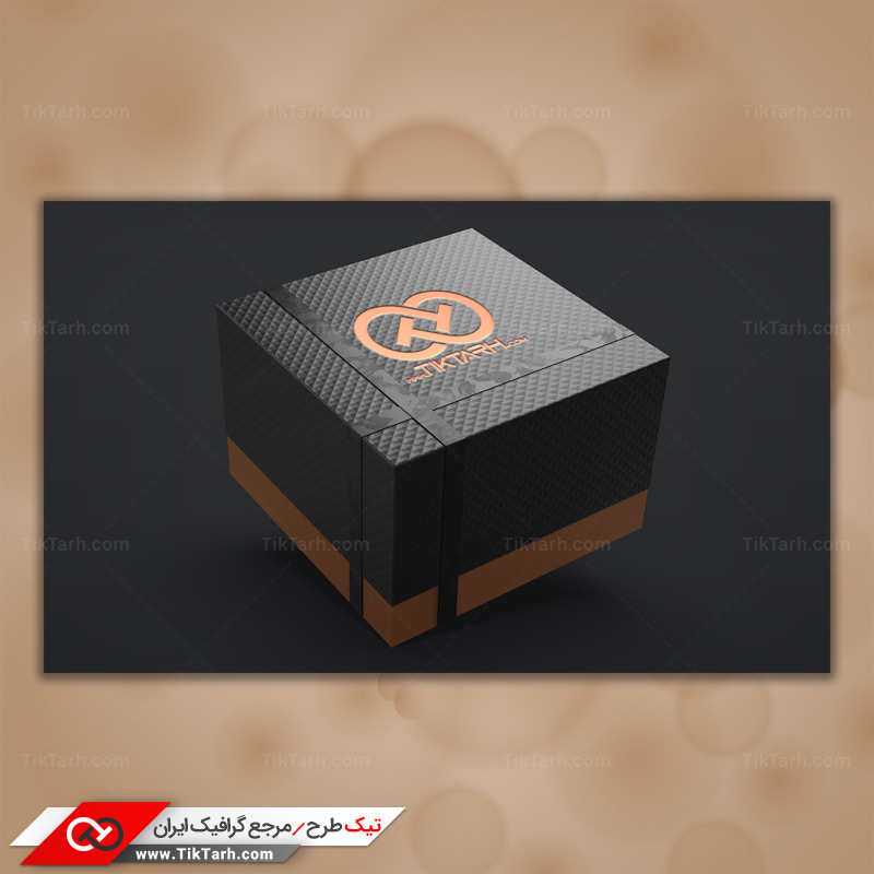 موکاپ جعبه کادو