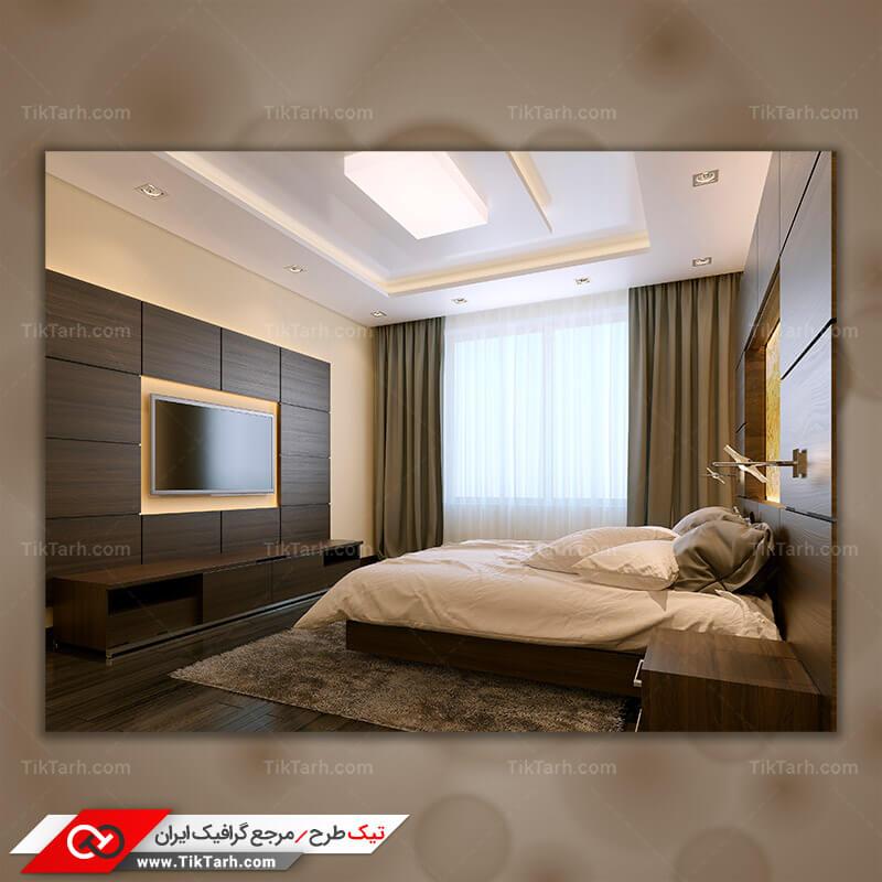 دانلود تصویر با کیفیت تخت و اتاق خواب