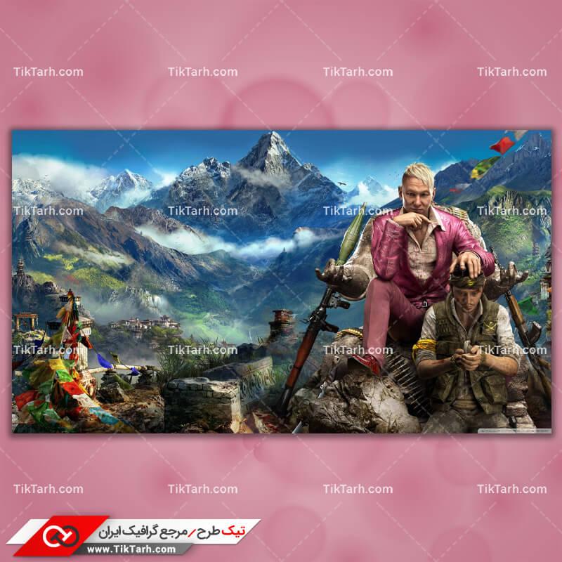 تصویر با کیفیت بازی far cry 4 himalay