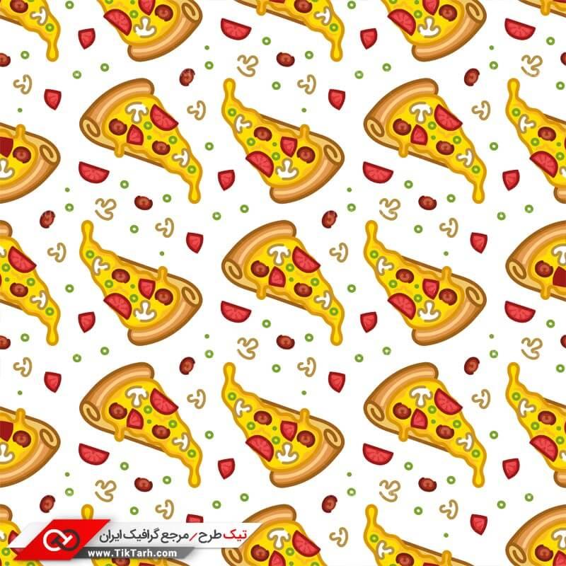دانلود پترن لایه باز با طرح پیتزای قارچ
