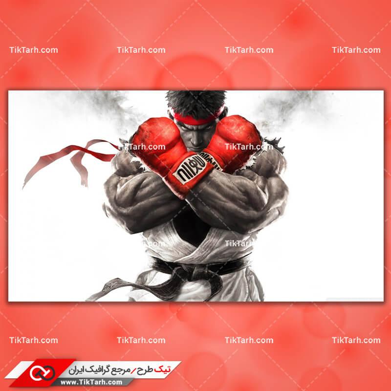 تصویر با کیفیت بازی street fighter v 2015