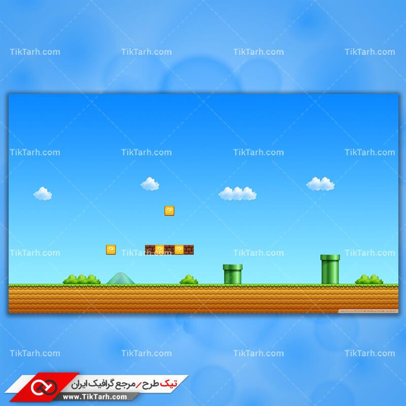 تصویر با کیفیت بازی super mario