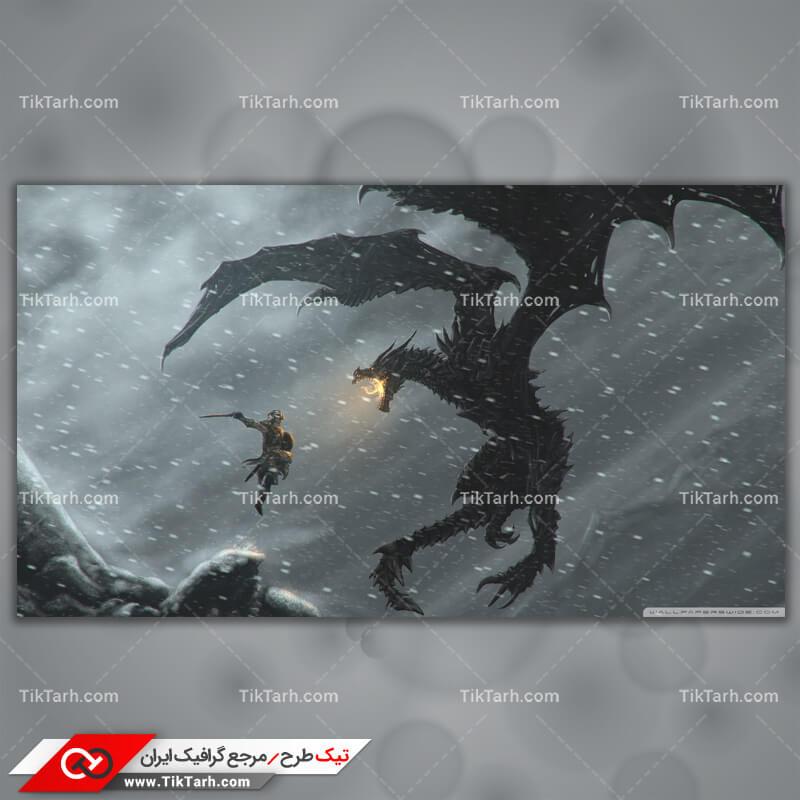 تصویر با کیفیت بازی the elder scrolls v skyrim 3