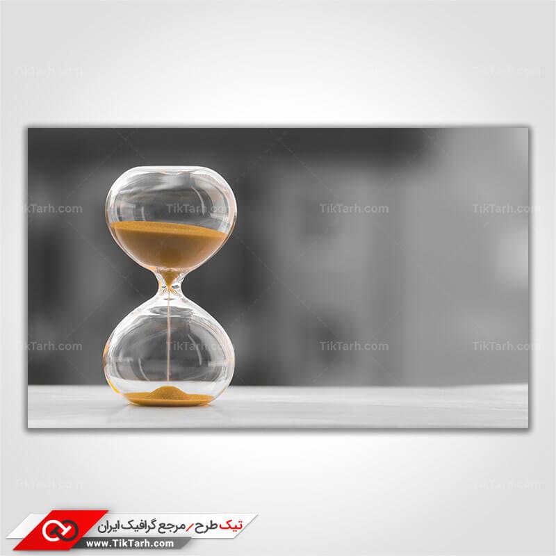 تصویر با کیفیت ساعت شنی
