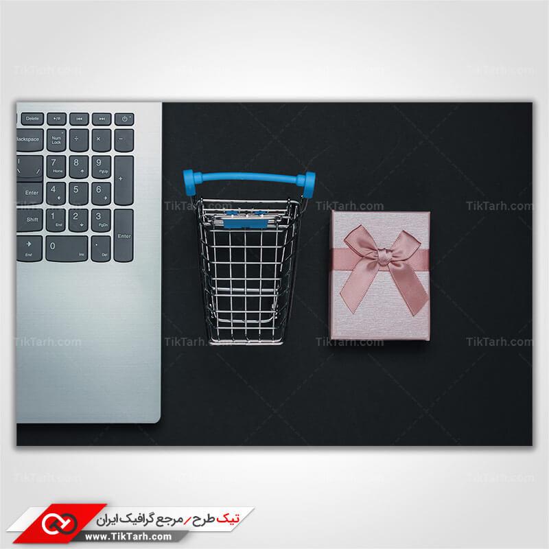 دانلود تصویر با کیفیت خرید کادو اینترنتی