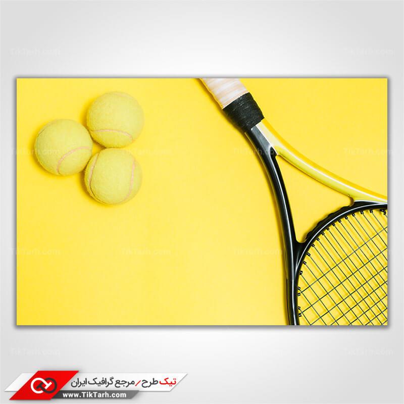 تصویر با کیفیت ورزش تنیس