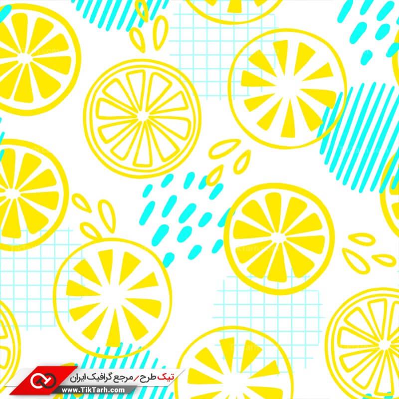 دانلود پترن لایه باز با طرح برشهای پرتقال