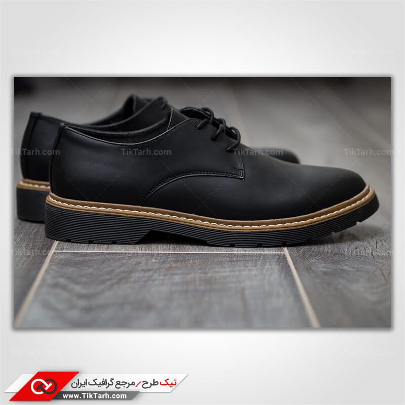 تصویر گرافیکی کفش مردانه