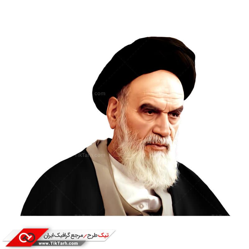 دانلود طرح لایه باز امام خمینی