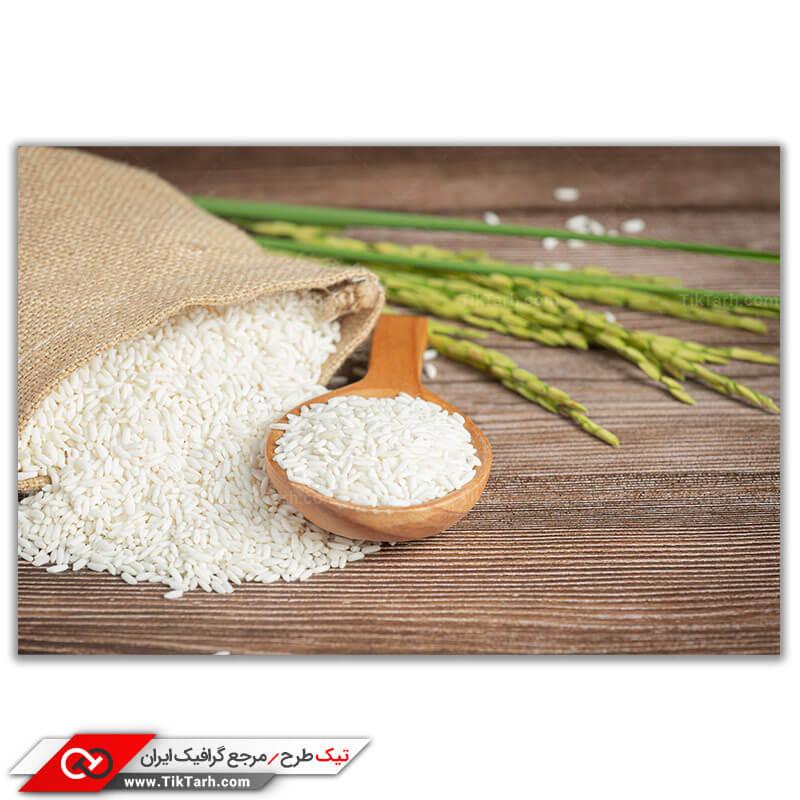 تصویر با کیفیت برنج