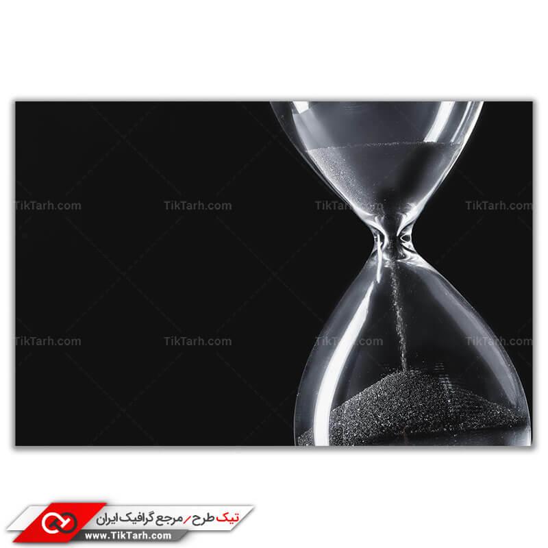 تصویر باکیفیت ساعت شنی