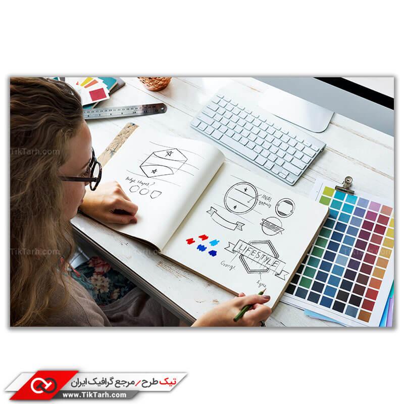 تصویر باکیفیت طراحی لوگو