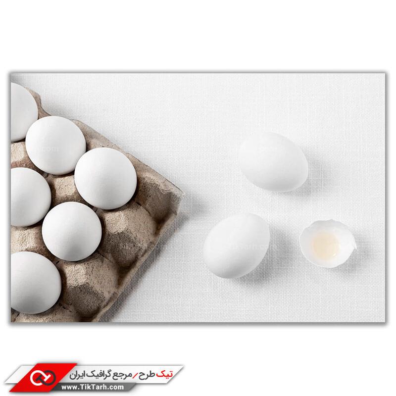 دانلود تصویر با کیفیت تخم مرغ در شانه