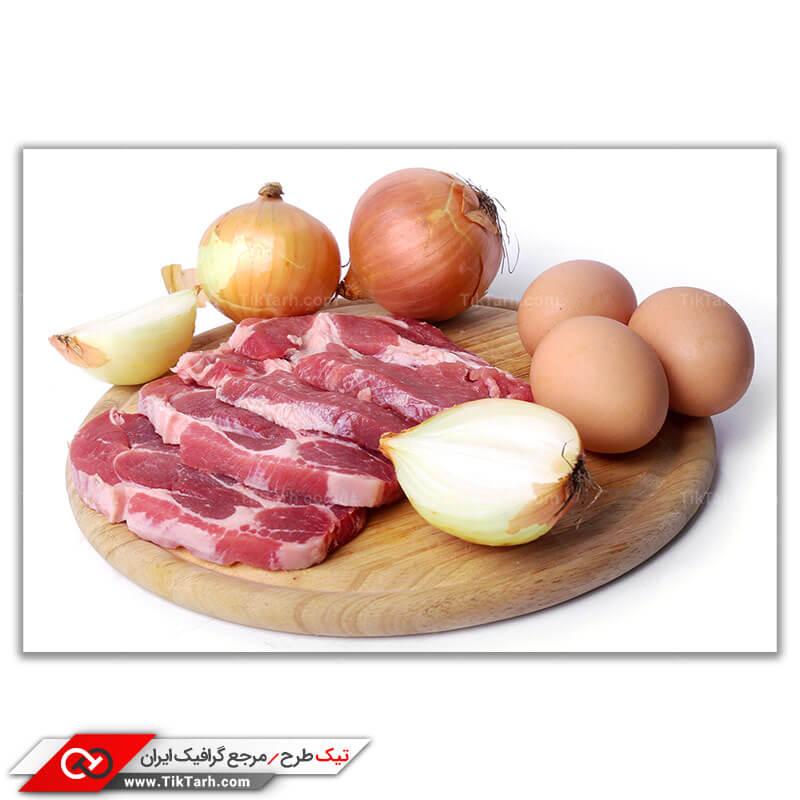 دانلود تصویر با کیفیت اشپزی با گوشت