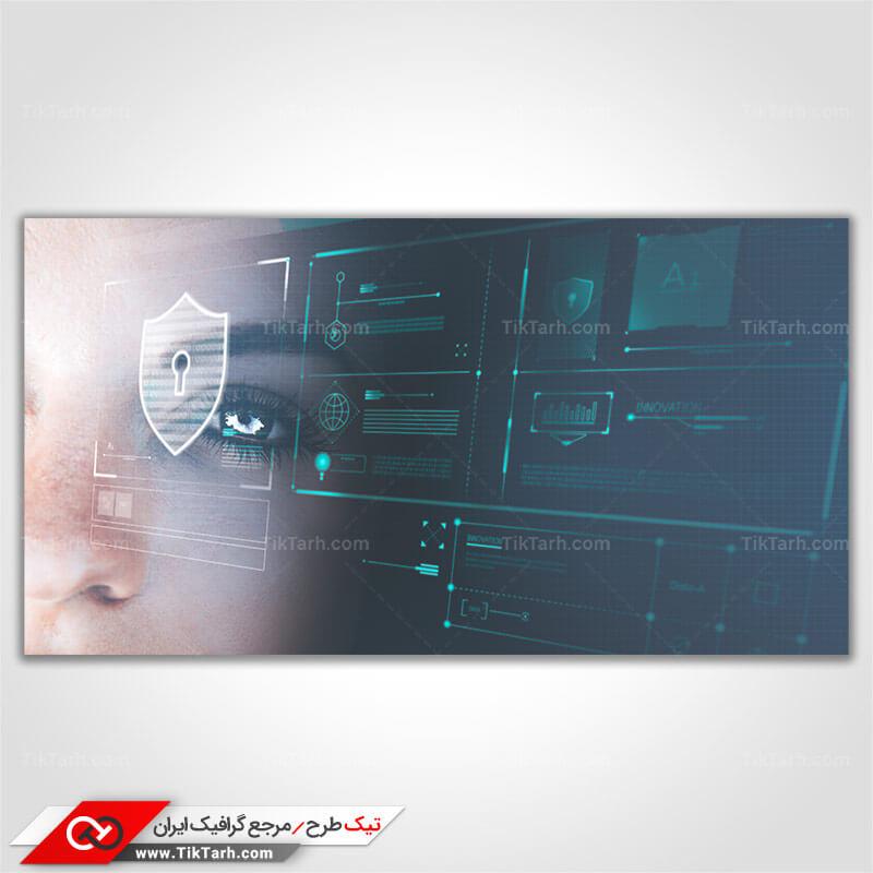 تصویر باکیفیت قفل امنیتی