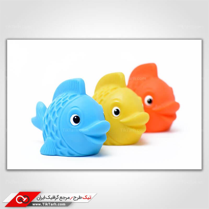 دانلود تصویر با کیفیت ماهی اسباب بازی