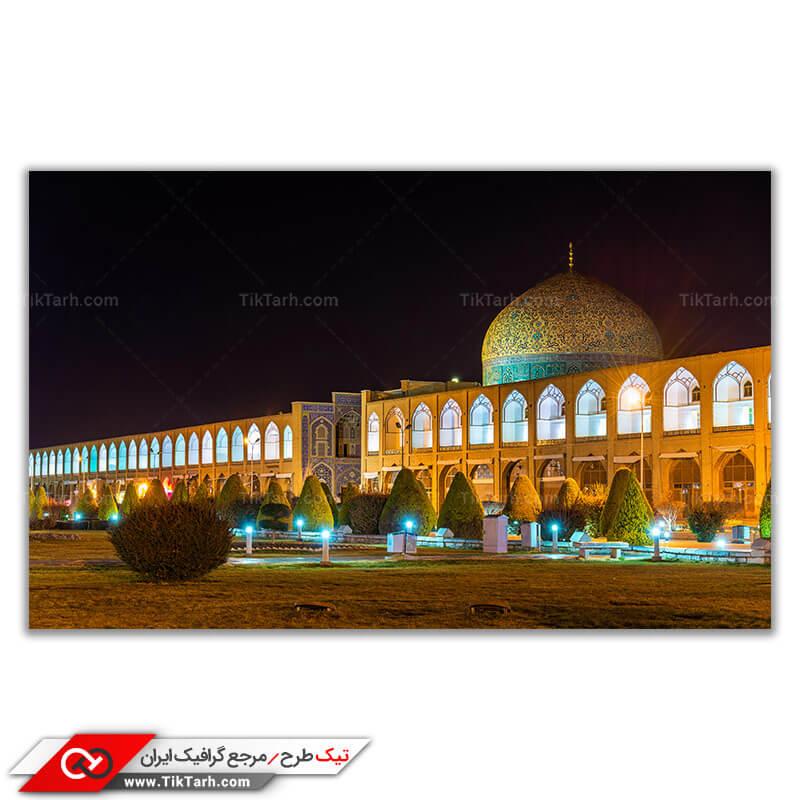 عکس باکیفیت مسجد شیخ لطف الله در میدان نقش جهان
