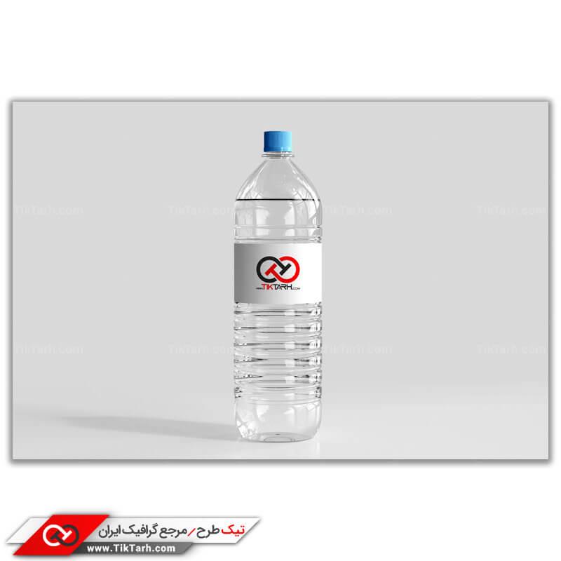 دانلود طرح موکاپ بطری آب معدنی