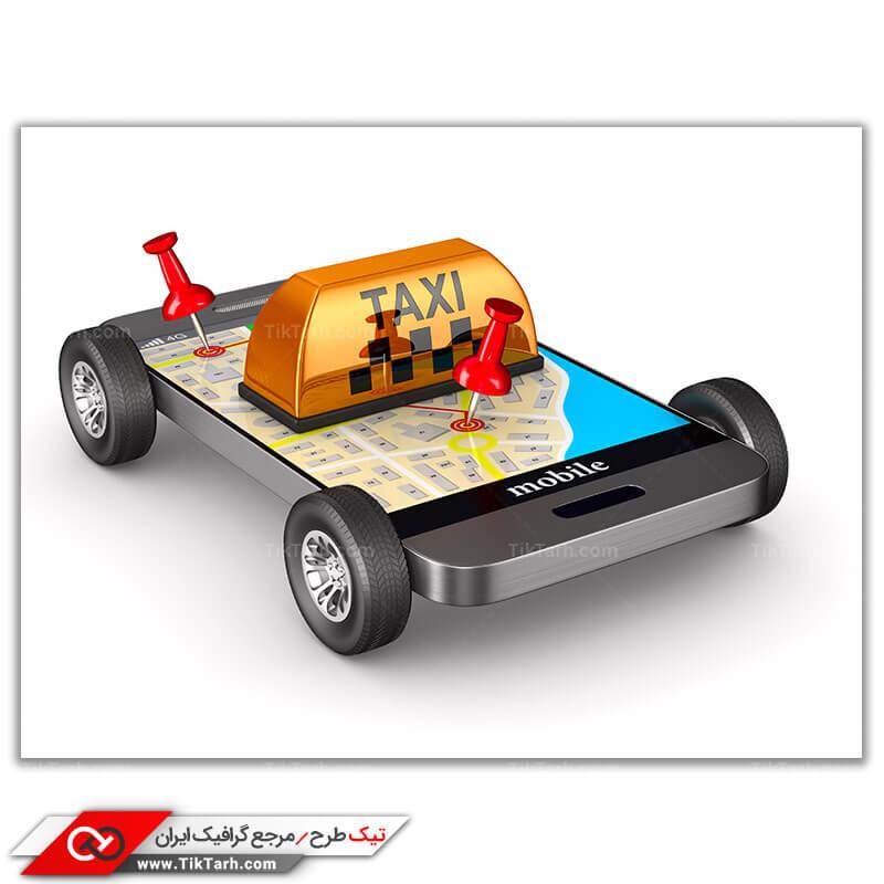 دانلود عکس با کیفیت تاکسی اینترنتی