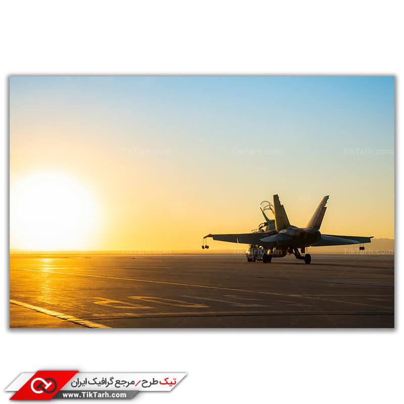 عکس با کیفیت جنگنده اف 18