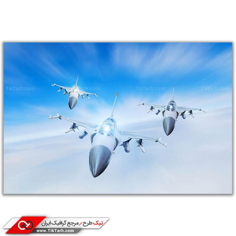 عکس با کیفیت جنگنده اف 16