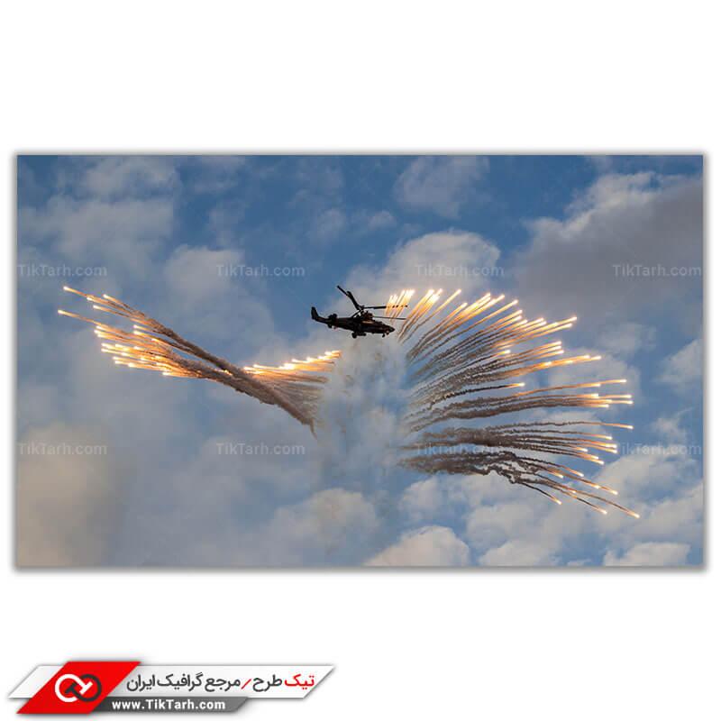 عکس با کیفیت هلیکوپتر کاموف 50 با چف و فلر