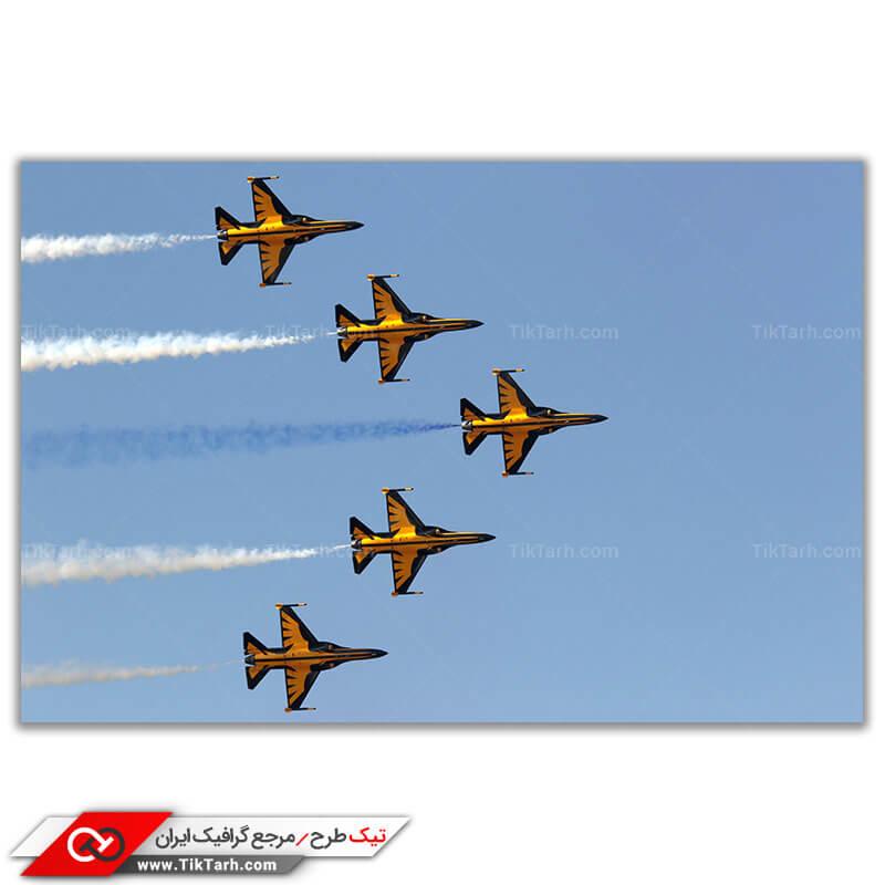 دانلود عکس با کیفیت جنگنده اف 16