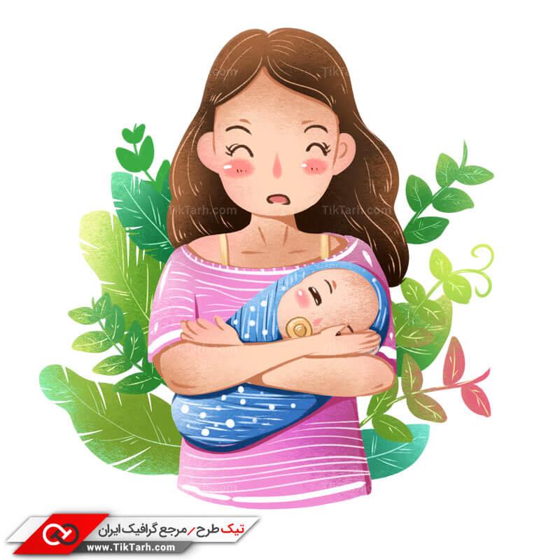 طرح کلیپ آرت مهر مادری