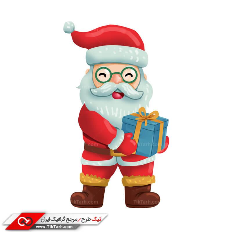 طرح کلیپ آرت بابانوئل