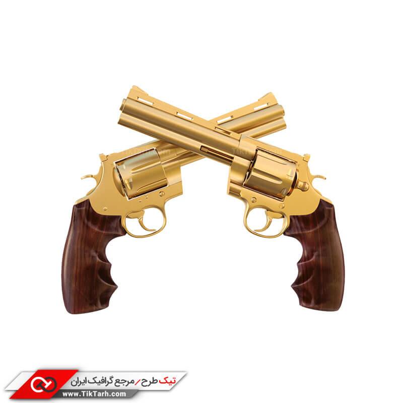 دانلود طرح تفنگ های شش لول