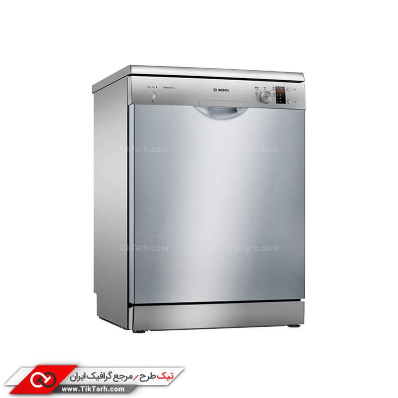طرح گرافیکی ماشین ظرفشویی بوش