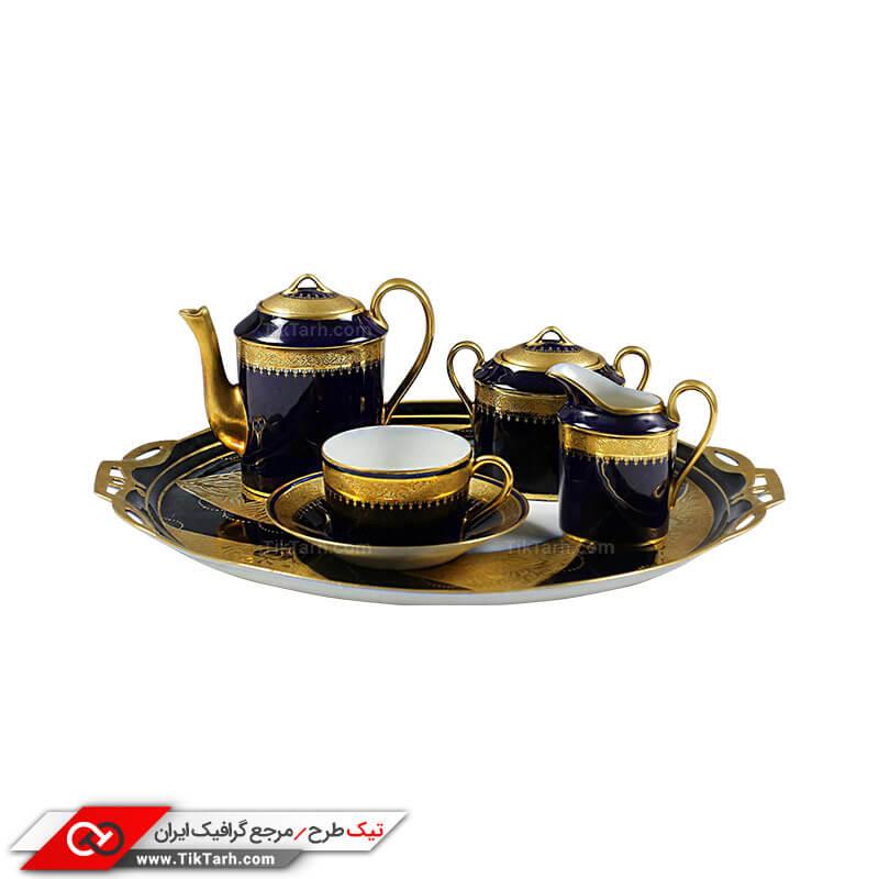دانلود طرح سرویس چای خوری چینی