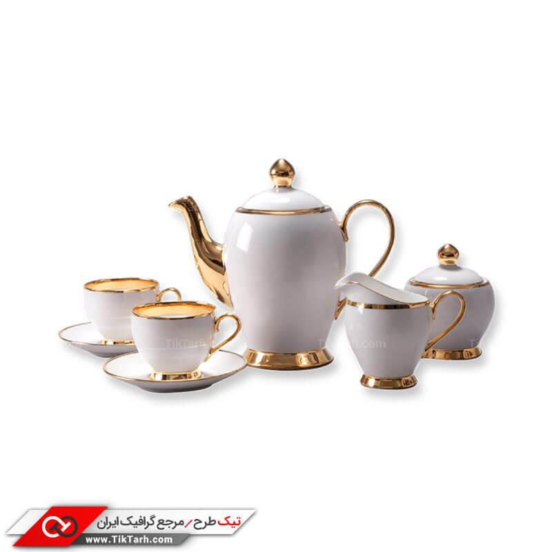 طرح سرویس چای خوری چینی
