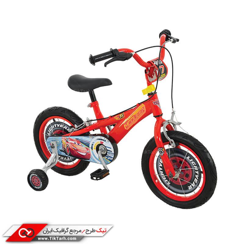 دانلود طرح گرافیکی دوچرخه کودک