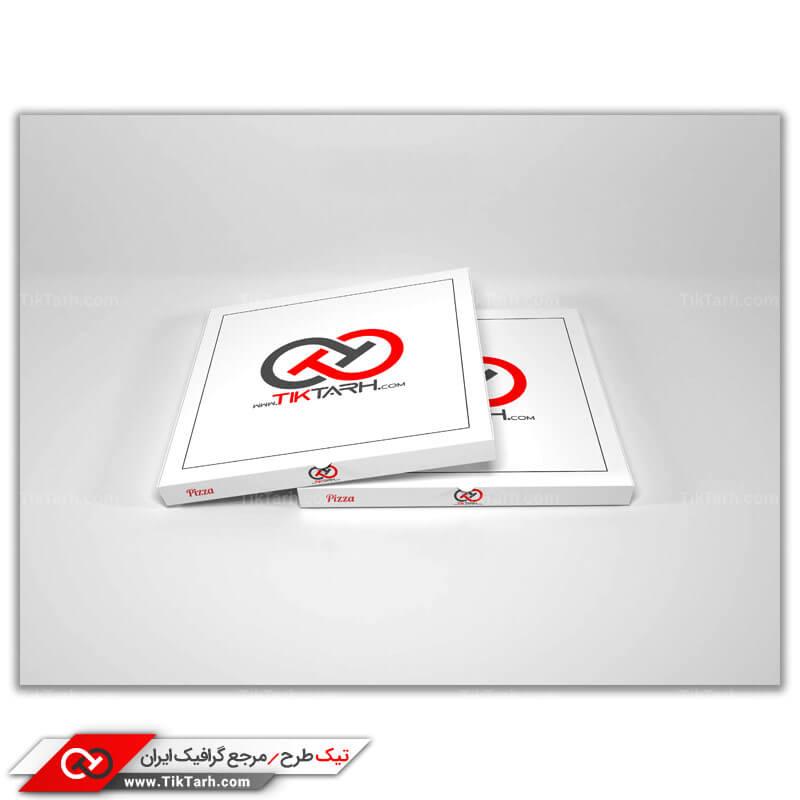 موکاپ جعبه های پیتزا